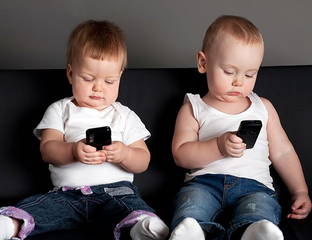 Filhos e eletrônicos